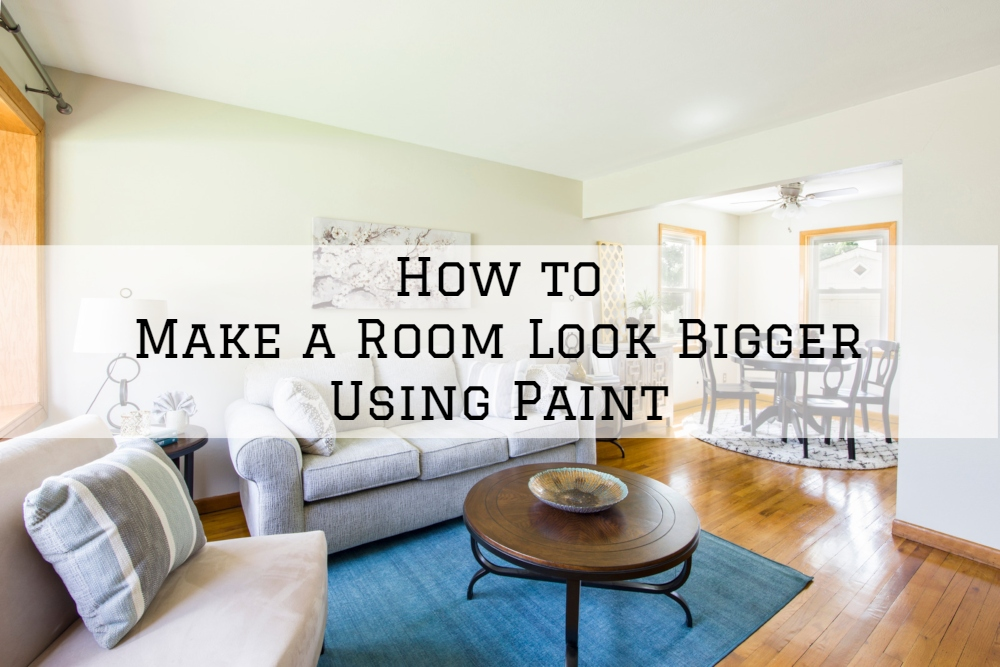 How To Make A Room Look Bigger Using Paint The Painting